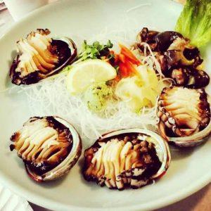 Sashimi bào ngư