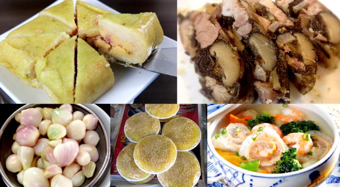 Món ăn ngày tết miền bắc